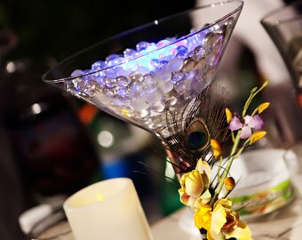 Table Centerpiece Decoration - Exquisite Martini Glass Centerpiece