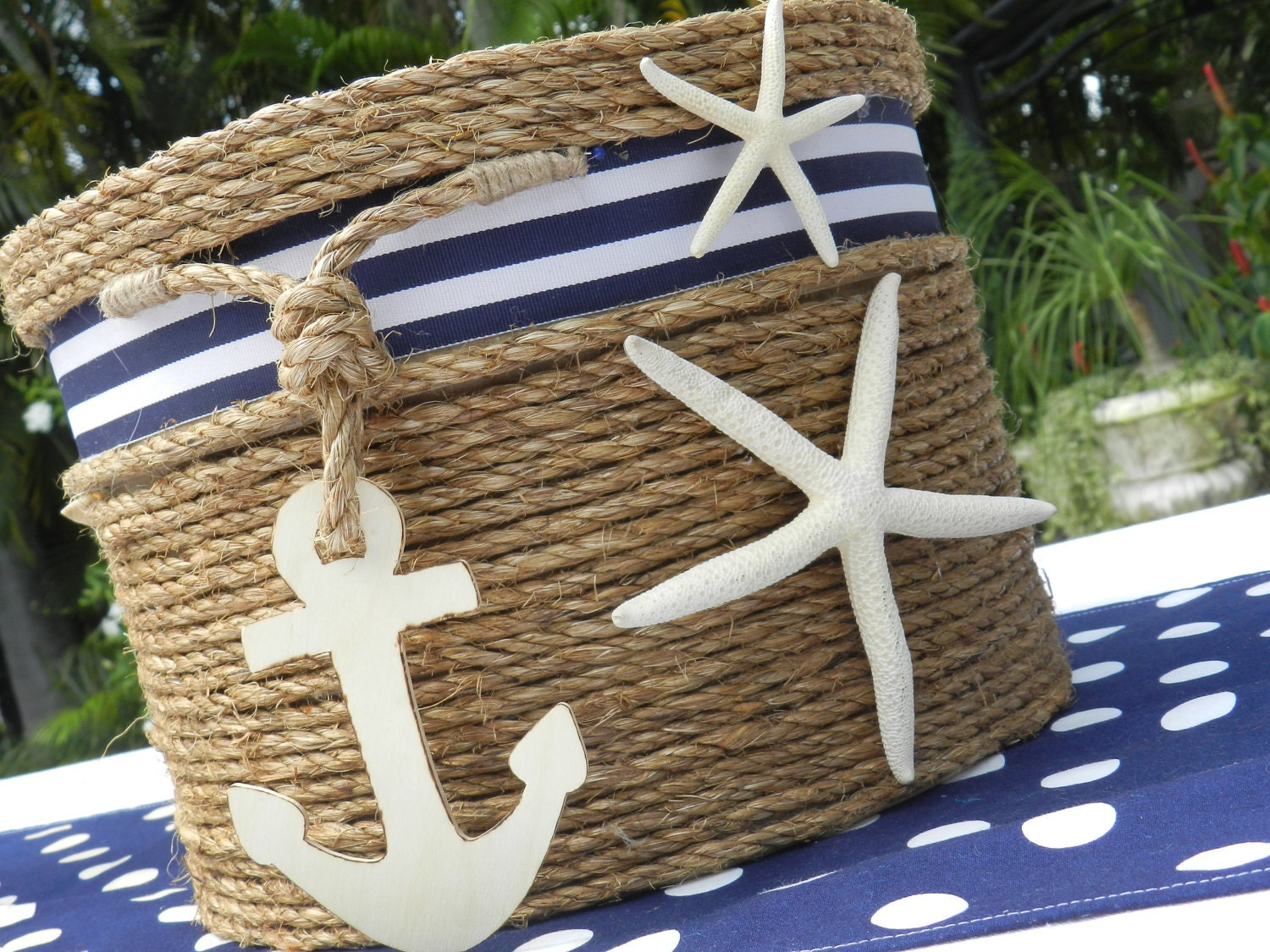 Wedding Gift Card Holder Beach Theme : Wedding Card Holder Beach or Nautical Theme Event