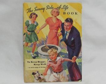 Vintage 1934 Sunny Side Of Life Book Booklet Kellogg Bran Cereal
