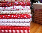 Quilting Fabric Quilt Fabric Bundle 45cm x 45cm Cotton Fabric 10pcs (17.71'' x 17.71'')