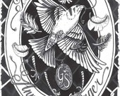The Birdwisher (an illustrated novella by Anna Joy Springer)