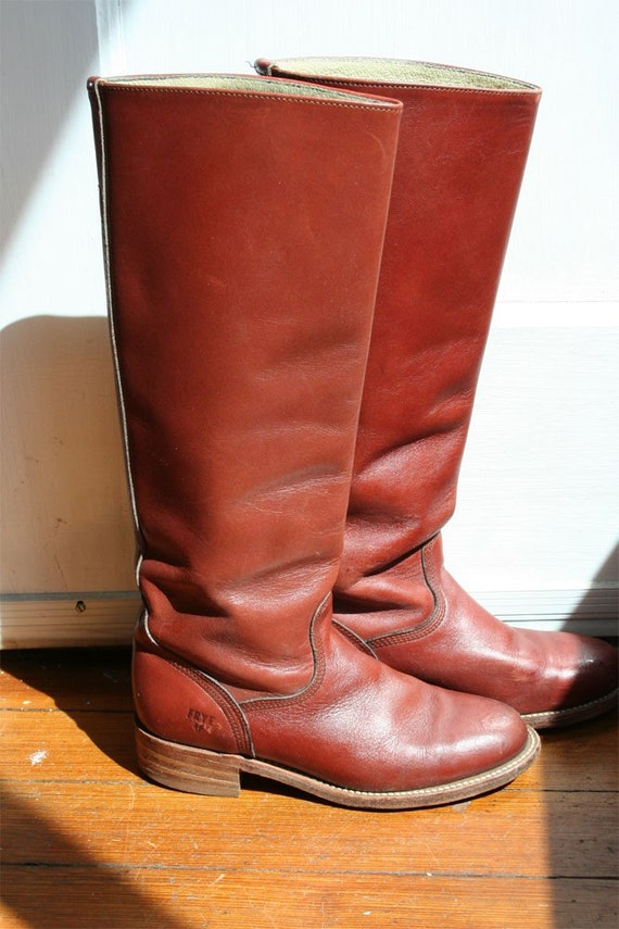 Vintage Frye Campus Women S Boots Size 6 By