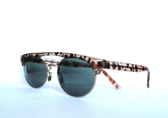 Vintage retro leopard unique shades sunglasses Germany