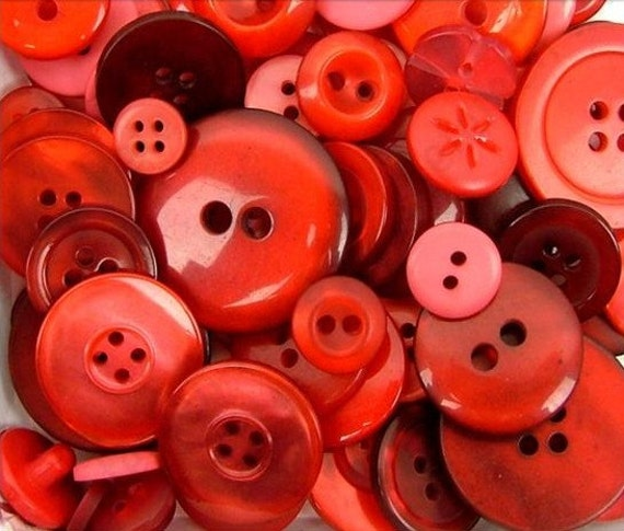 red buttons ginger