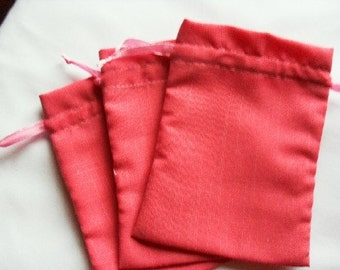 """20 Soft Red Velvet Drawstring Pouch  - 6"""" wide x 8"""" high for stamping -Gift bags, Soaps, candles, beads, jewelery"""