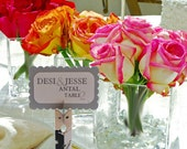 20 Custom Wedding Placecard Holders - to add the perfect personal touch on your wedding day or bridal shower