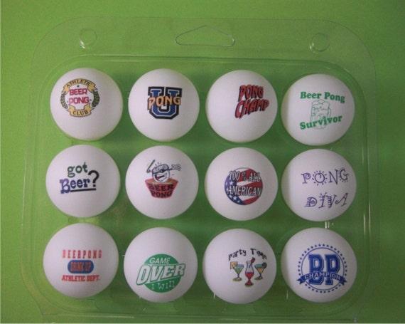 Beer Pong Balls-Free  USA Shipping