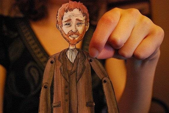 Vincent Van Gogh paper doll