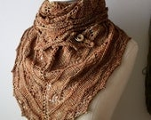 Knitting Pattern / Joyeux Lace Shawlette / DIY Shawl Tutorial / PDF Digital Download