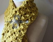 Knitting Pattern / Chunky Cowl Scarf / Hunny / PDF DIGITAL DELIVERY