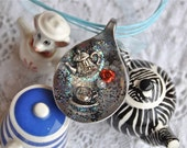 Join me for Tea - spoon pendant