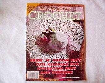 Decorative Crochet Magazine, May 2000 issue 75 Crochet Pattern Booklet, Doilies, Doily Patterns, Thread Crochet pattern