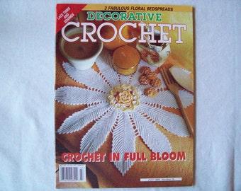 Decorative Crochet Magazine, July 1999 issue 70 Crochet Pattern Booklet, Thread, Doilies, Doily Pattern, Thread Crochet pattern