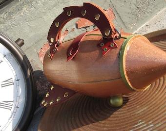 Rocket Purse Copper & Green