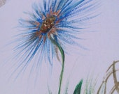 HANDMADE GREETING CARDS - Get Well - Sweet Blue Aster
