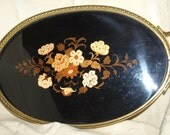 Vintage Inlaid Serving Tray