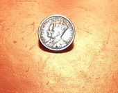 Vintage George VI Coronation Coin Pin
