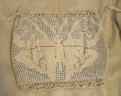 Vintage 1920s Drawstring Bag