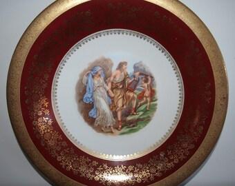 Vintage Bavarian Decorator Plate