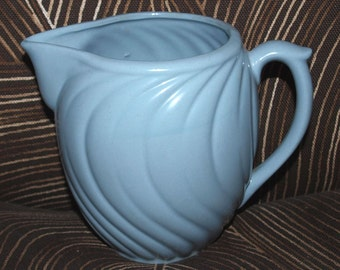 Vintage Blue Milk Pitcher