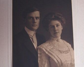 Vintage Edwardian Portrait Photograph