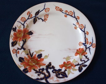 Antique Doulton Burslem Floral Plate