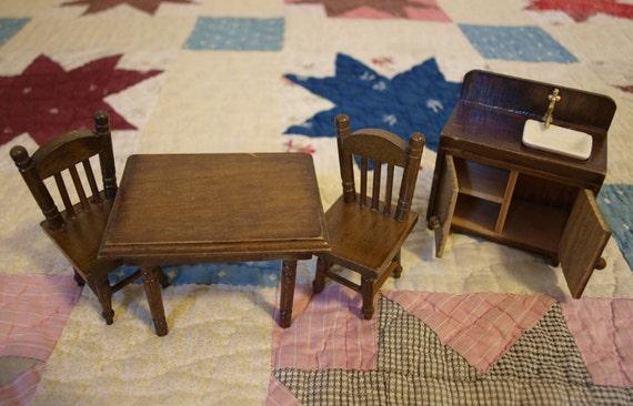 Vintage Doll House Furniture