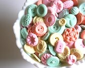 Peppermint Candy Buttons 200 -as seen in Matha Stewart Weddings: The Bride's Guide