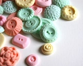 Peppermint Candy Buttons 50 ...a handmade candy / featured on Oh Joy