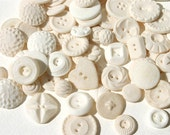 Edible Vintage Vanilla Candy Buttons 450 - by Andie's Specialty Sweets