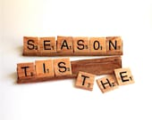 READY TO SHIP Edible Game Tiles and 2 Edible Game Tile Racks -tis the season- free shipping