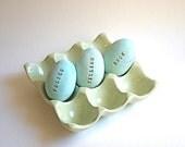 Chocolate Filled Candy Eggs 6 Personalized 100% Vegan -2 week turn around at minimum