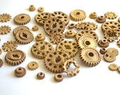 Edible Chocolate Candy Gears 150 unique edible embellishments or stand alone candy