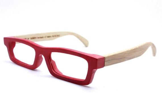 New works handmade bamboo   eyeglasses glasses frame love-bamboo c1501