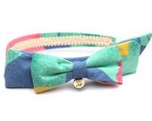 Summer bow (I) headband in carnival - by kani