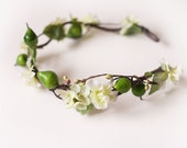 you're my apple to my pear hair wreath // woodland collection