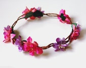 floral hair crown // woodland collection // isabella