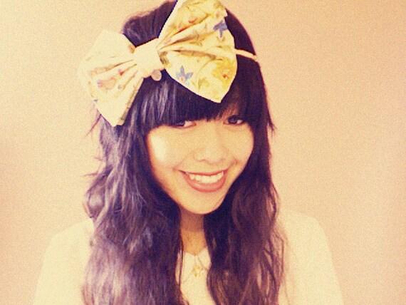 ziggy headband in floral delight