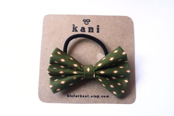 hailey deluxe bow hair tie // ponytail holder elastics