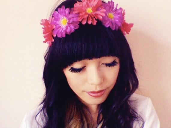 tropical flower headband // woodland collection // kristen