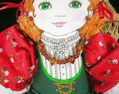 Swiss Heidi Fabric Doll