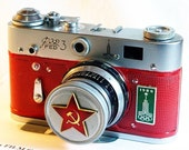 USSR FED-3 OLYMPIC camera rare RUSSIAN LEICA  -from RussianVintage