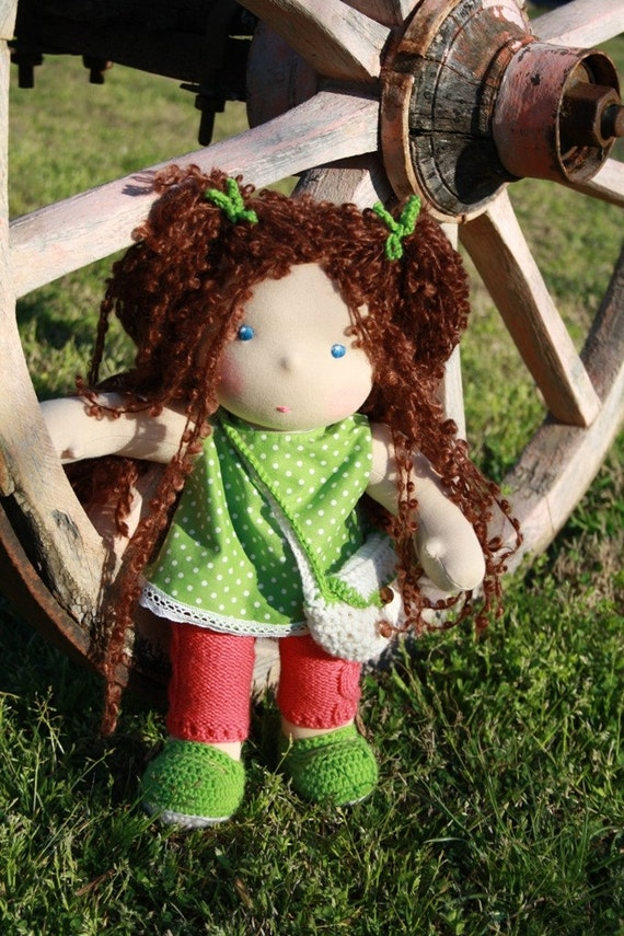 Kyara, all natural Waldorf inspired doll