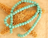 Full Strand of Turquoise  Magnesite Round 6mm Beads