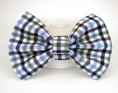 Gingham Dog Collar Bow Tie - The Tommy Tie