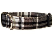Plaid Dog Collar - Brownberry Plaid