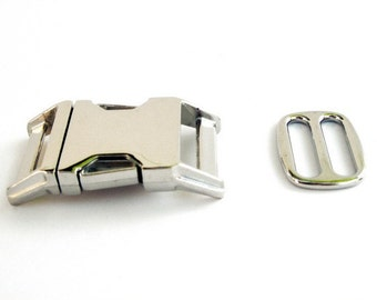 Nickel Plate Hardware Upgrade For Your Dog Collar