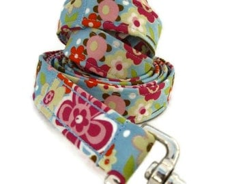 Floral Dog Leash The Bailey Leash