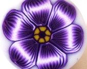 Purple Flower Cane by TovArt Creations