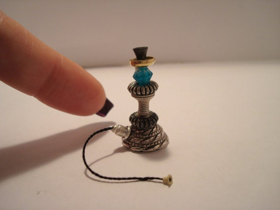 One inch scale Hookah pipe dollhouse miniature